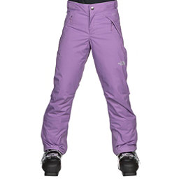 The North Face Freedom Insulated Girls Ski Pants, Bellflower Purple, 256