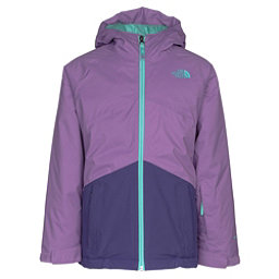 The North Face Brianna Insulated Girls Ski Jacket, Bellflower Purple, 256
