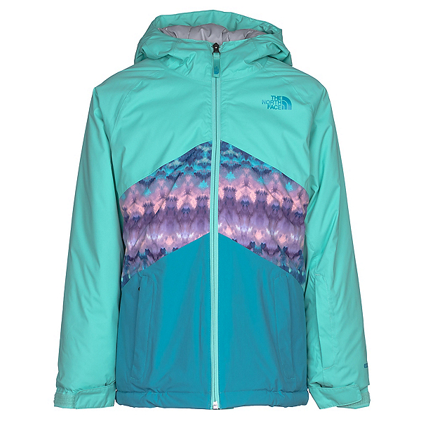 The North Face Brianna Insulated Girls Ski Jacket (Previous Season), Bermuda Green, 600