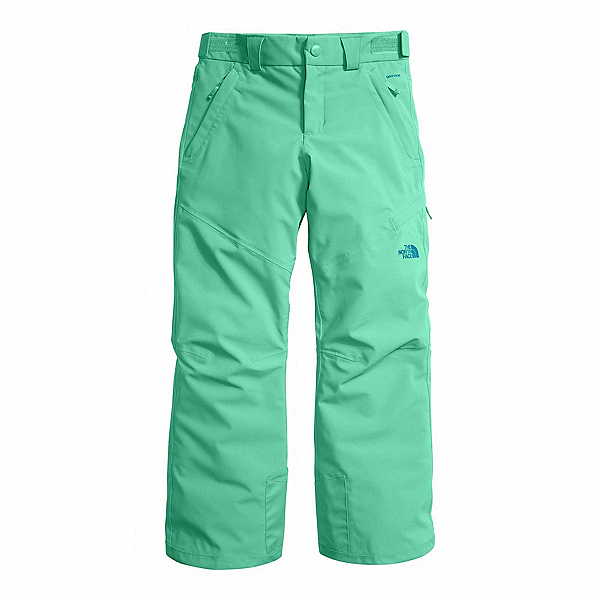 The North Face Powdance Girls Ski Pants (Previous Season), Bermuda Green, 600