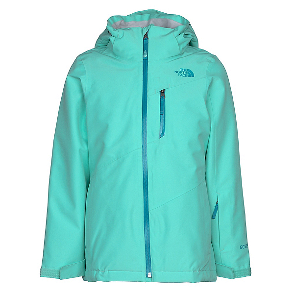 The North Face Fresh Tracks Triclimate Girls Ski Jacket, Bermuda Green, 600