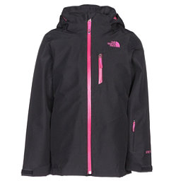 The North Face Fresh Tracks Triclimate Girls Ski Jacket, TNF Black, 256