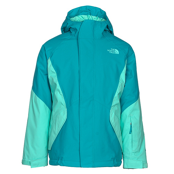 The North Face Kira Triclimate Girls Ski Jacket, Algiers Blue, 600