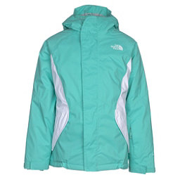 The North Face Kira Triclimate Girls Ski Jacket, Bermuda Green, 256