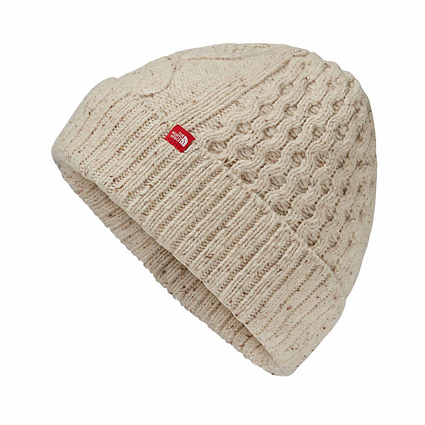 The North Face Lambswool Beanie, TNF Oatmeal Heather, 600