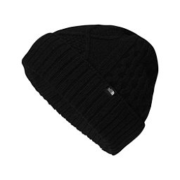 The North Face Lambswool Beanie, TNF Black, 256