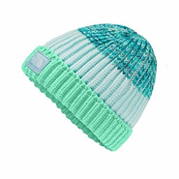 The North Face Basic Beanie Kids Hat, Bermuda Green-Origin Blue Spac, 256