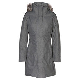 The North Face Arctic Parka II w/Faux Fur Womens Jacket, TNF Medium Grey Heather, 256