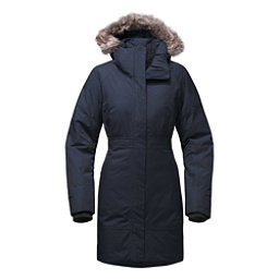 The North Face Arctic Parka II w/ Faux Fur Womens Jacket, Urban Navy, 256