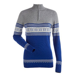 NILS Terri Womens Sweater, Blue Blaze-Steel Grey-Winter W, 256