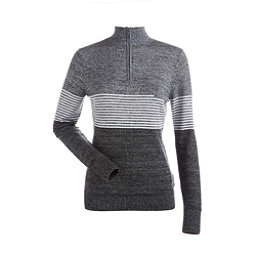 NILS Riley Womens Sweater, Black-Charcoal-White, 256
