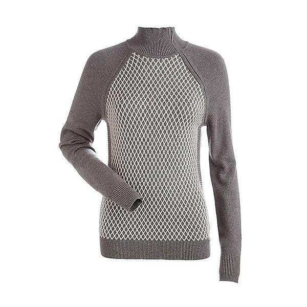 NILS Sigrid Womens Sweater, Mushroom-Winter White, 600