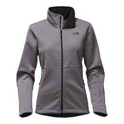 The North Face Apex Risor Womens Soft Shell Jacket, TNF Medium Grey Heather, 256