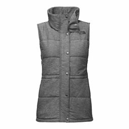 The North Face Pseudio Womens Vest, TNF Medium Grey Heather, 256