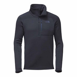 The North Face Flux 2 Power Stretch 1/4 Zip Mens Mid Layer, Urban Navy, 256