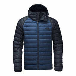 The North Face Trevail Hoodie Mens Jacket, Shady Blue-Urban Navy, 256