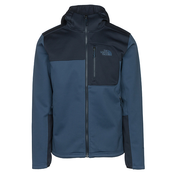 The North Face Apex Risor Hoodie Mens Soft Shell Jacket (Previous Season), , 600