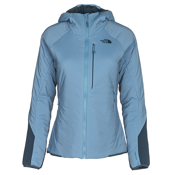 The North Face Ventrix Hoodie Womens Jacket, Provincial Blue-Ink Blue, 600