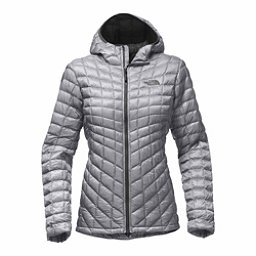 The North Face ThermoBall Hoodie Womens Jacket, Mid Grey, 256