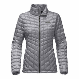 The North Face ThermoBall Full Zip Womens Jacket, Mid Grey, 256