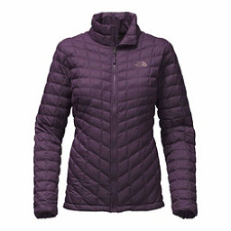 The North Face ThermoBall Full Zip Womens Jacket, Dark Eggplant Purple Matte, 256