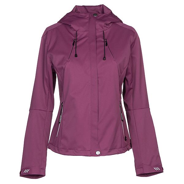 NILS Shar Womens Shell Ski Jacket, Merlot-Merlot, 600