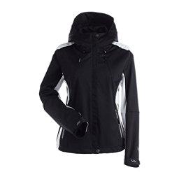 NILS Shar Womens Shell Ski Jacket, Black-Black, 256