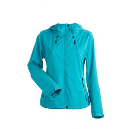 NILS Shar Womens Shell Ski Jacket, Turquoise-Turquoise, 256