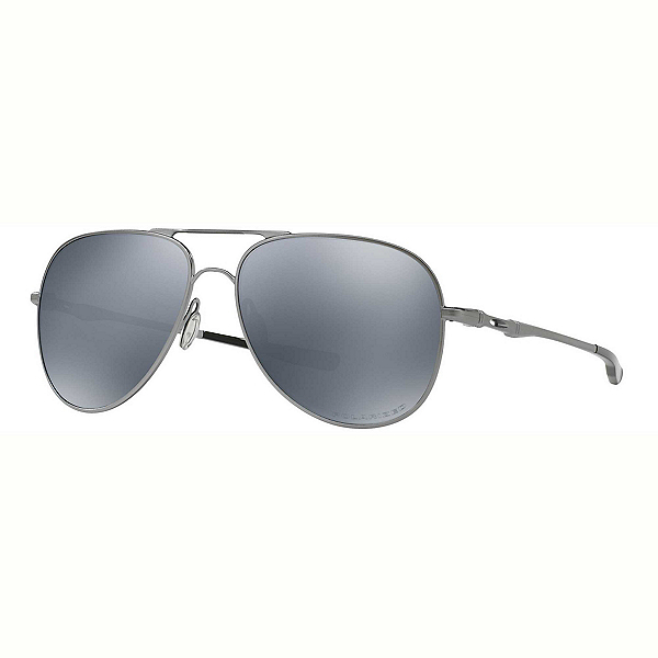 Oakley Elmont Polarized Sunglasses, Lead-Black Iridium Polarized, 600