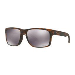 Oakley Holbrook PRIZM Sunglasses, Matte Brown Tortoise-Prizm Black, 256