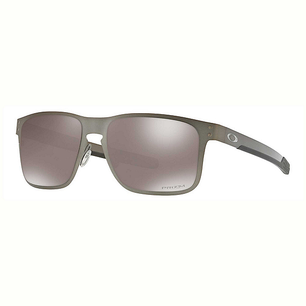 Oakley Holbrook Metal PRIZM Polarized Sunglasses, Gunmetal-Prizm Black Polarized, 600