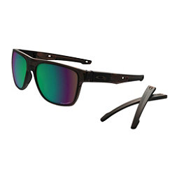 Oakley Crossrange XL PRIZM Polarized Sunglasses, Matte Tortoise-Prizm Shallow Water Polarized, 256