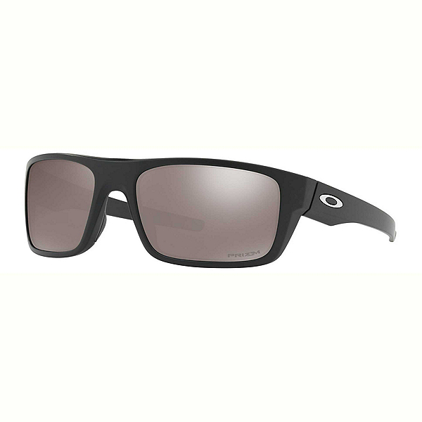 Oakley Drop Point PRIZM Polarized Sunglasses, Matte Black, 600