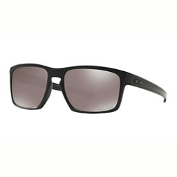 Oakley Sliver PRIZM Polarized Sunglasses, Matte Black-Prizm Black Polarized, 256