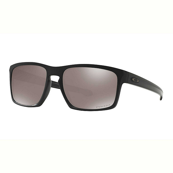 Oakley Sliver PRIZM Polarized Sunglasses 2018, Matte Black-Prizm Black Polarized, 600