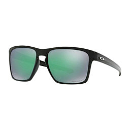 Oakley Sliver XL PRIZM Sunglasses, Polished Black-Prizm Jade, 256