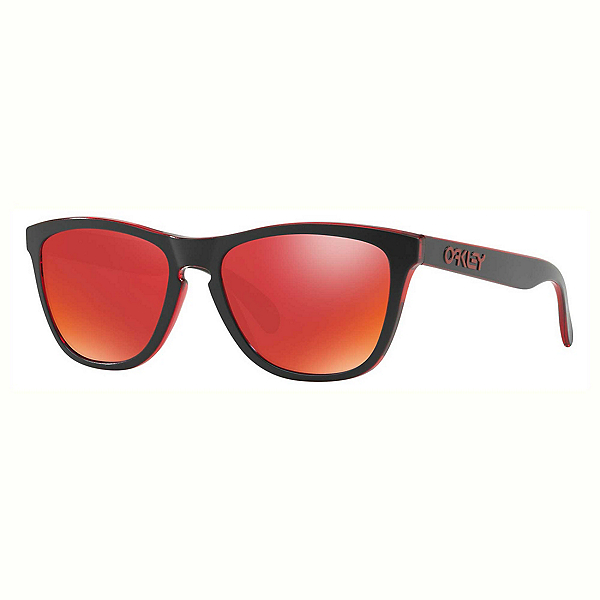 Oakley Frogskins Sunglasses, Eclipse Red-Torch Iridium, 600