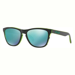Oakley Frogskins Sunglasses, Eclipse Green-Jade Iridium, 256
