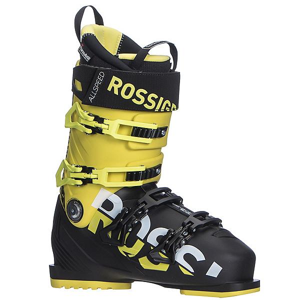 Rossignol Allspeed 120 Ski Boots 2018, Black-Yellow, 600