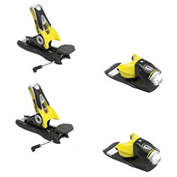 Look SPX 12 Dual WTR Ski Bindings 2018, Black-Yellow, 256