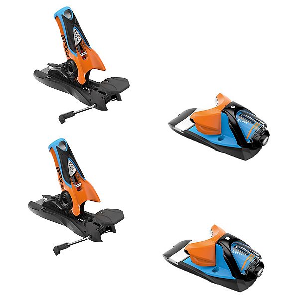 Look SPX 12 Dual WTR Ski Bindings 2018, Blue-Orange, 600