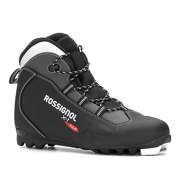 Rossignol X-1 NNN Cross Country Ski Boots 2018, Black, 600