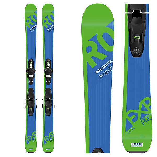 Rossignol Experience Pro L Kids Skis with Xpress Jr. 7 Bindings 2018, , 600