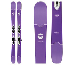 Rossignol Sassy 7 Womens Skis with Xpress Bindings 2018, , 256