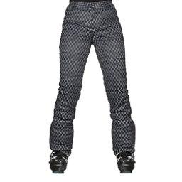 NILS Dominique Print Womens Ski Pants, Black-White Geo Print, 256