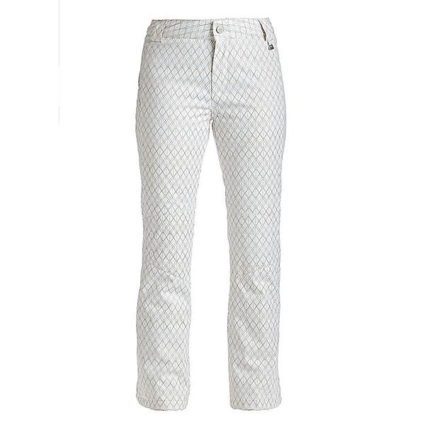NILS Dominique SE Womens Ski Pants, White-Copper Geo Print, 600