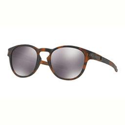 Oakley Latch PRIZM Sunglasses, Matte Brown Tortoise-Prizm Black, 256