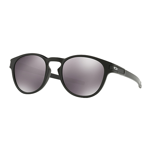 Oakley Latch PRIZM Sunglasses, Matte Black-Prizm Black, 600