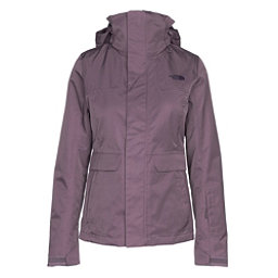 The North Face Helata Triclimate Womens Insulated Ski Jacket, Black Plum, 256