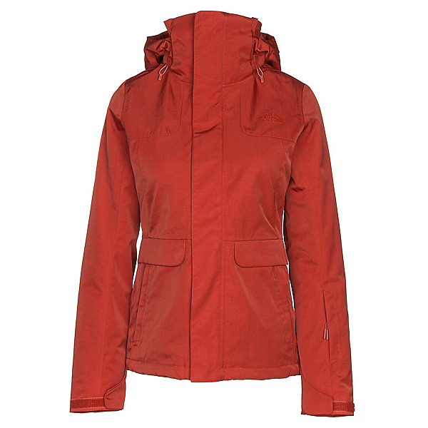 The North Face Helata Triclimate Womens Insulated Ski Jacket, Ketchup Red, 600